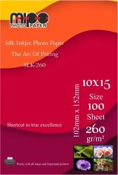 - 10x15 Mat Fotoğraf Kağıdı 260gr. İnkjet MİPO