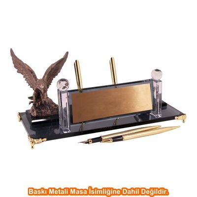 Altın Kartal Kristal Masa İsimliği KC1601