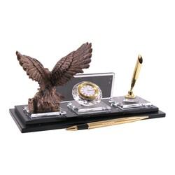 Digitronix - Altın Kartal Kristal Masa İsimliği KC1607 (1)