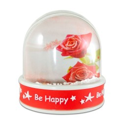 - Be Happy Yazılı Müzikli Kar Küresi 5013PM