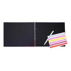 Digitronix - Beyaz Kalemli Siyah Kendin Yap Fotoğraf Albümü Samanyolu (1)