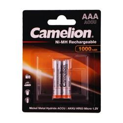 Camelion - Camelion AAA 1000 mah Şarjlı İnce Pil 2li Blister