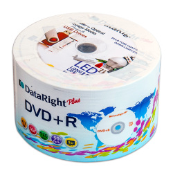 - Dataright Plus DVD+R 4.7 GB 16X 120 Min 50 Pack