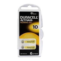 - Duracell Activair 10 Kulaklık Pili 6lı Blister