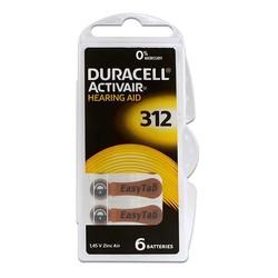 - Duracell Activair 312 Kulaklık Pili 6lı Blister