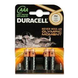 - Duracell LR03 MN2400 AAA Alk. İnce Pil 4lü Blister