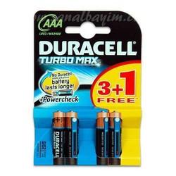 - Duracell LR03 MX2400 Alk. AAA Turbo İnce Pil 4lü