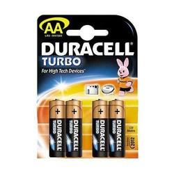 - Duracell LR6 MX1500 AA Turbo Alk. Kalem Pil 4lü