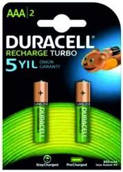 DURACELL - Duracell Şarjlı 900-850mAh İnce Kalem Pil HR03 2li