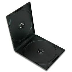 - DVD Kutusu 10.4mm Çiftli Siyah Clear