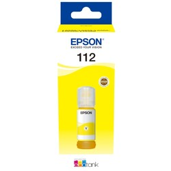 Epson - Epson 112 Yellow Mürekkep Eko Tank T06C44