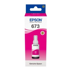 Epson - Epson T673 Orjinal Magenta Mürekkep 70 ml
