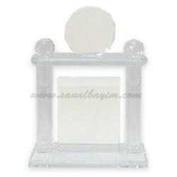 - Fasetli Vip Kristal Plaket 1004