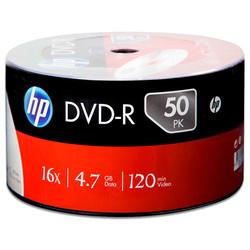 HP - HP Printable DVD-R 4,7 GB 50li Paket