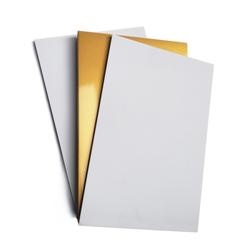 - İnkjet PVC Plastik Kart Altın 760mic 20x30cm 50lik (1)