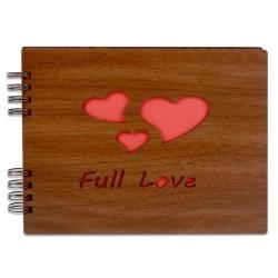 - Kendin Yap Ahşap Love Desen Fotoğraf Albümü (1)