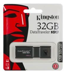 - Kingston 32GB USB 3.0 Data Traveler 100G