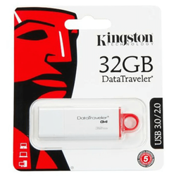 Kingston - Kingston 32GB USB 3.0 Flash Disk DTIG4/32