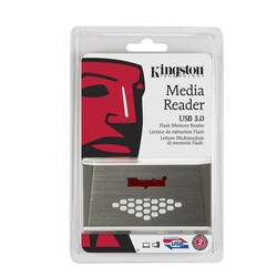 Kingston - Kingston Card Reader USB3 FCR HS4
