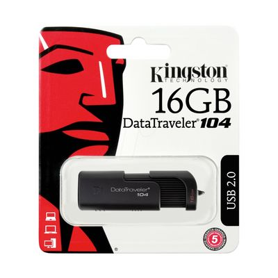 Kingston Flash Bellek DT104 16GB