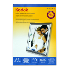 - Kodak A4 Mat İnkjet Fotoğraf Kağıdı 270gr.