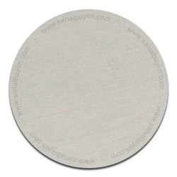 - Masa İsimlik Metali Gümüş
