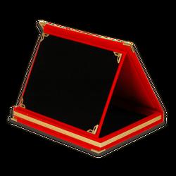 - Plaket Kutusu 12x16 Albüm Kutu Kırmızı Yatay