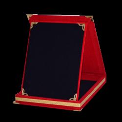 - Plaket Kutusu 15x20 Albüm Kutu Kırmızı Dikey