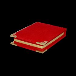 - Plaket Kutusu Mini Kırmızı (1)