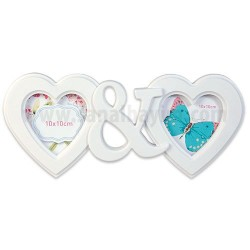 - Plastik Çoklu Çerçeve 2li Kalp MD18