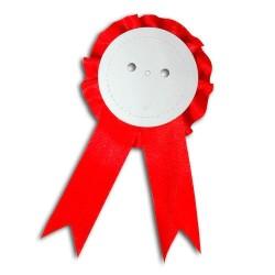 - Rozet 58 MM Kokart ( Beyaz-Kırmızı-Lacivert )