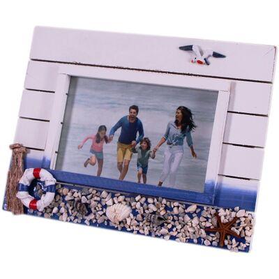 Ahşap Deniz Temalı Fotoğraf Çerçevesi No38A/B