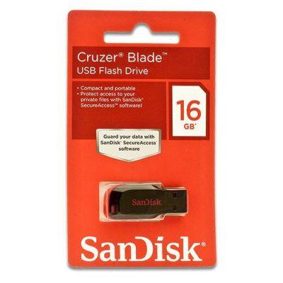 Sandisk 16 GB USB SDCZ50 2.0 Cruzer Blade
