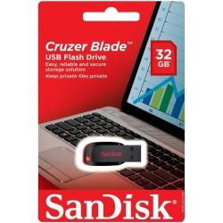 SanDisk - Sandisk 32 GB USB SDCZ50 2.0 Cruzer Blade