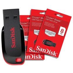 - Sandisk USB 8 GB SDCZ50 Cruzer Blade (1)