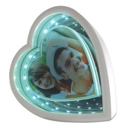 - Sihirli Ayna Çerçeve Ledli Kalp İki Renk Işık (1)