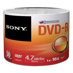 - Sony DVD-R 4,7GB 50lik Paket