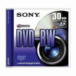 SONY - Sony DVD-RW 30 min 1.4 GB 5DMW30S2 5li Paket