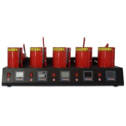 Digitronix - Sublimasyon 5 li Kupa Bardak Baskı Makinası MP150*5