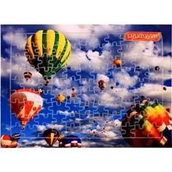 - Sublimasyon A4 Puzzle 99 Parça Ayaklı