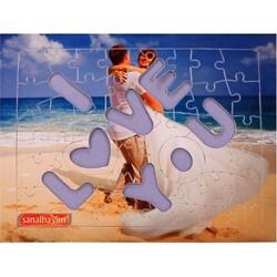 - Sublimasyon A4 Puzzle I Love You 51 Parça (1)