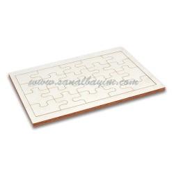 - Sublimasyon A5 Ahşap Puzzle 20 Parça (1)