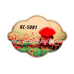 - Sublimasyon Ahşap Magnet Eko KC-5001