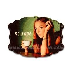 - Sublimasyon Ahşap Magnet Eko KC-5006
