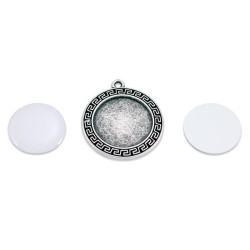 - Sublimasyon Anahtarlık Metal Gümüş Kaplama MA134 (1)