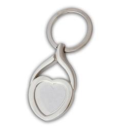 - Sublimasyon Anahtarlık Metal KR 061 Yaprak Kalp