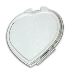 - Sublimasyon Ayna Metal Kalp 015