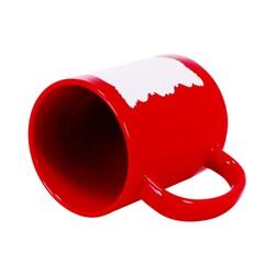 - Sublimasyon Dekoratif Alanlı Kırmızı Kupa (1)