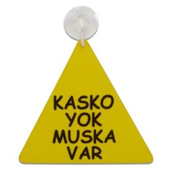 - Sublimasyon Fleks Araç Arkası Üçgen ARK106