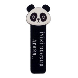 - Sublimasyon Fleks Kitap Ayracı Panda KAR101